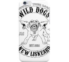 wild dogs  iPhone Case/Skin