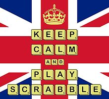 Keep Calm And Play Board Games by Paul James Farr