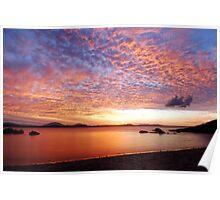 Grays Bay Sunset Poster