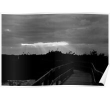 Boardwalk | Fire Island, New York  Poster