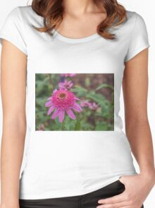 Beautiful Flower Women's Fitted Scoop T-Shirt