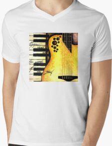 Natural Ovation & Keys Mens V-Neck T-Shirt
