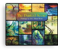 The Painted Scene - Calendar Cover Canvas Print