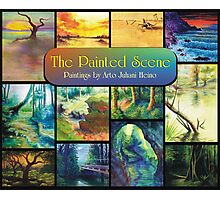 The Painted Scene - Calendar Cover Photographic Print