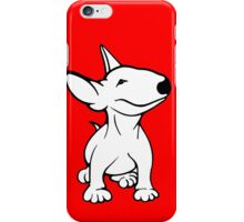 English Bull Terrier Pup White iPhone Case/Skin