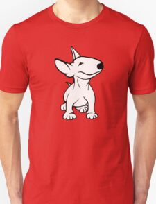 English Bull Terrier Pup White T-Shirt