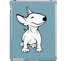 English Bull Terrier Pup White iPad Case/Skin