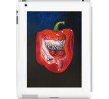 Pepper oil painting iPad Case/Skin