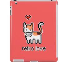 8 bit retro kitty iPad Case/Skin