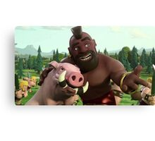 Clash of Clans Poster Art Canvas Print