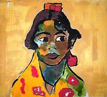 Gypsy Girl by Christopher  Raggatt