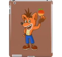 crash bandicoot! iPad Case/Skin