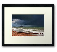 Colour of a storm  Framed Print