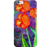 Tulipes Orange iPhone Case/Skin