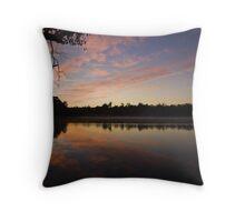 Lake Leschenaultia Throw Pillow
