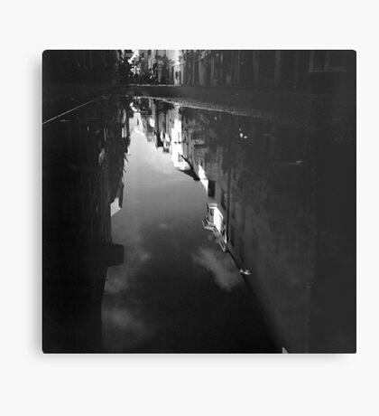 Cook Street Under Water Metal Print