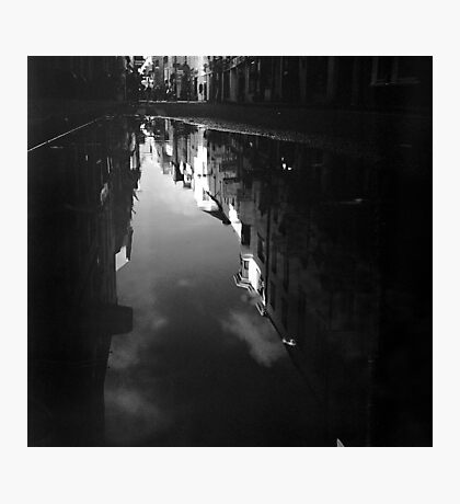 Cook Street Under Water Photographic Print