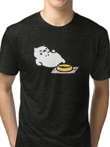Cat Ate All of the Food Tri-blend T-Shirt