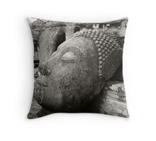 Ancient Buddha Throw Pillow