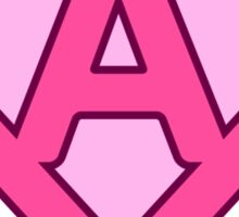 A letter Sticker