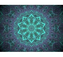 Into the isometric pyramid Photographic Print