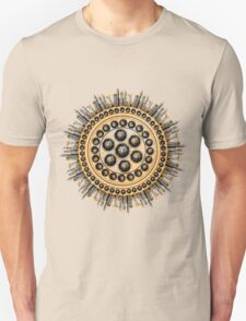 Cog of oranges and skyscrapers T-Shirt