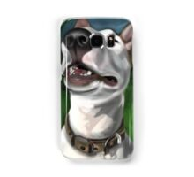 Lola English Bull Terrier Painting 2 Samsung Galaxy Case/Skin
