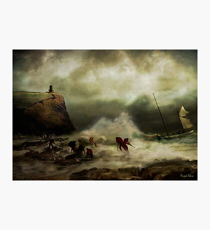The Rescue Photographic Print