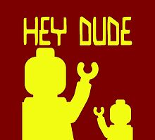 Minifig Hey Dude by Customize My Minifig
