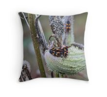 Creepy Crawlies Throw Pillow