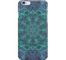 Inside the isometric crystal. iPhone Case/Skin