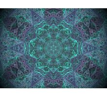 Inside the isometric crystal. Photographic Print