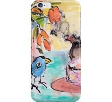 Scoota- Time for tea iPhone Case/Skin