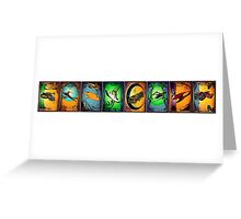 Ships of Farscape Greeting Card