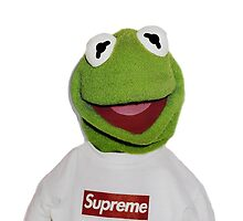 Supreme Kermit by abraham alvarez