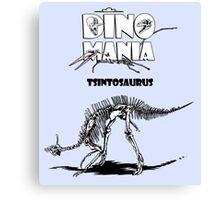 Dino Mania Tsintosaurus Canvas Print