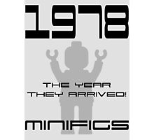'1978 The Year They Arrived! Minifigs' Photographic Print