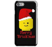 Santa Minifig - Merry 'Brick'mas iPhone Case/Skin