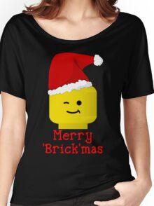Santa Minifig - Merry 'Brick'mas Women's Relaxed Fit T-Shirt