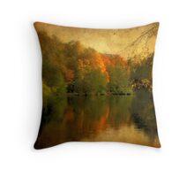 Autumn's Mirror Throw Pillow