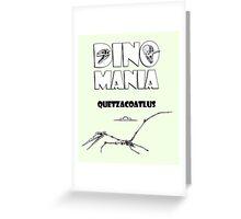 Dino Mania Quetzacoatlus Greeting Card