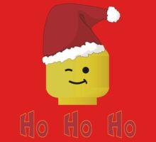 Santa Ho Ho Ho Minifig by Customize My Minifig Baby Tee