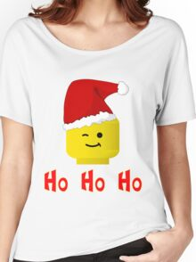 Santa Ho Ho Ho Minifig by Customize My Minifig Women's Relaxed Fit T-Shirt