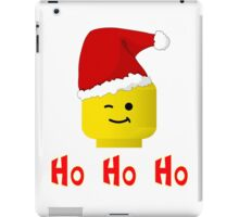 Santa Ho Ho Ho Minifig by Customize My Minifig iPad Case/Skin