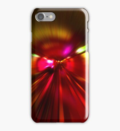 Speed - Metro Subway Train iPhone Case/Skin
