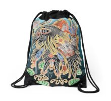 crow prayer for jerry Drawstring Bag