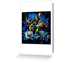 Eliminators Greeting Card