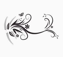 Flower Garden One Piece - Short Sleeve