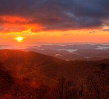 October Sunrise by Jane Best