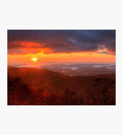 October Sunrise Photographic Print